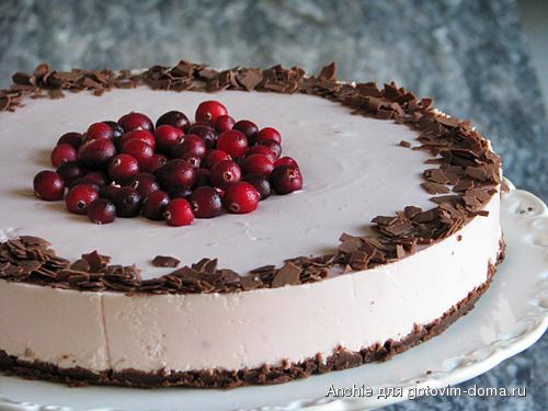Торт из печенья с творогом качество с