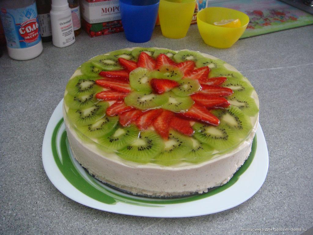Рецепты тортов с фруктовым суфле