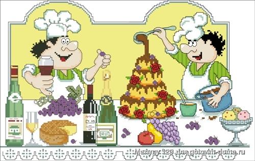 Винодельчик тортик. картинка