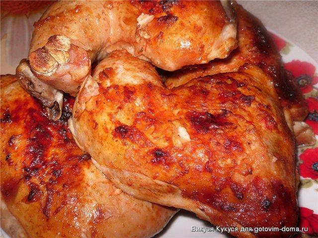 Рецепт приготовления курицы у маринаде