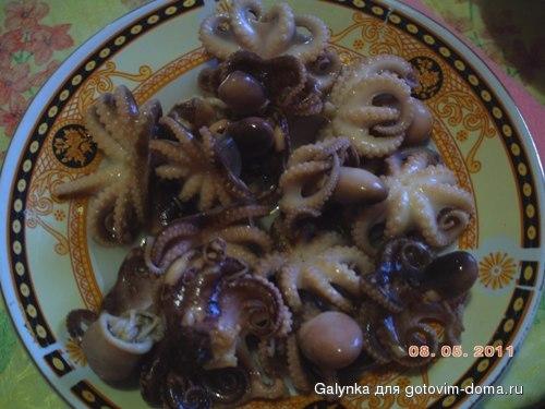 Рецепты осьминогов маринованных