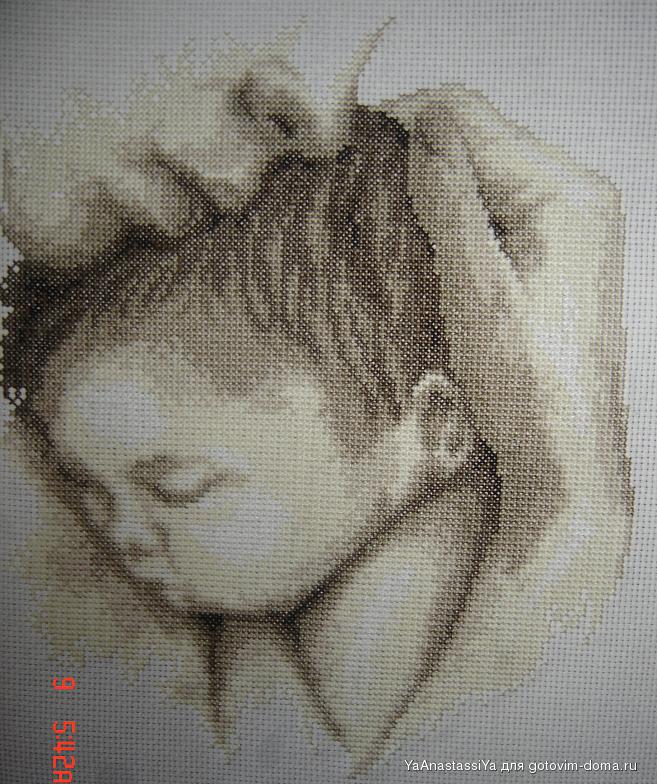 Мать и дитя вышивка лукас 39