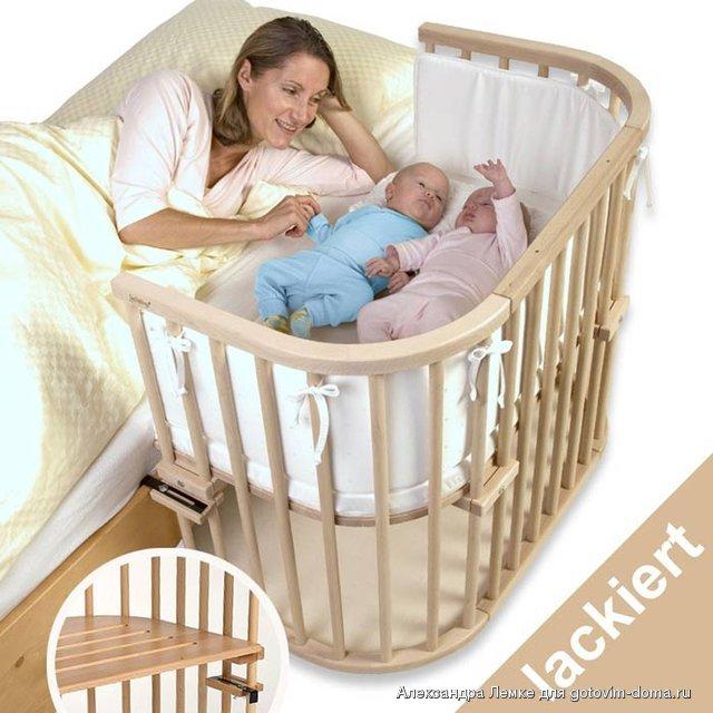 Приданное для новорожденных своими руками