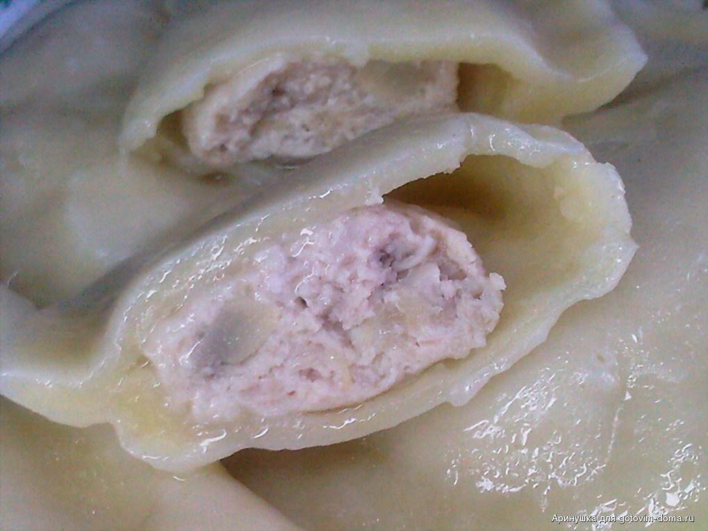 Пельмени с мясом и капустой рецепт пошаговый