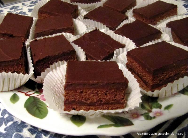 Пирожные рецепты с фото