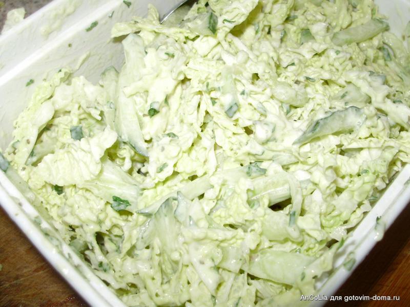 Салат из капусты с бальзамическим уксусом рецепты 185