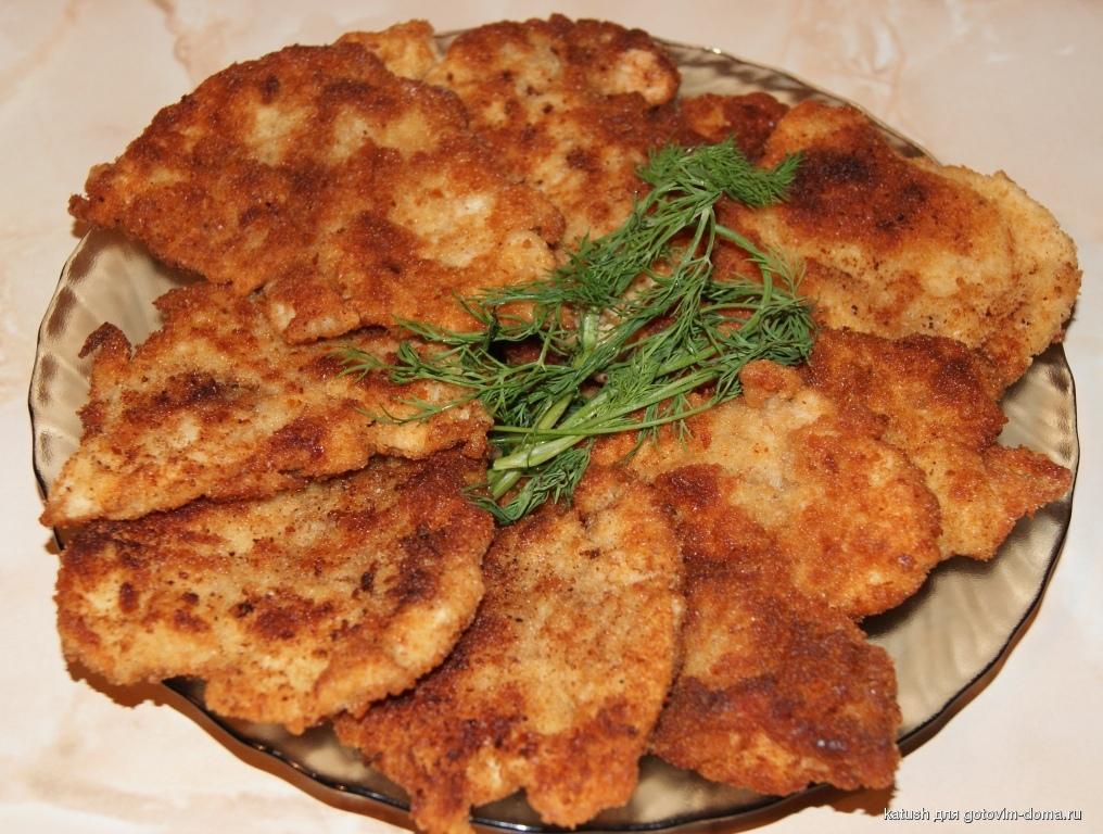 Отбивные из куриной печени рецепт с фото