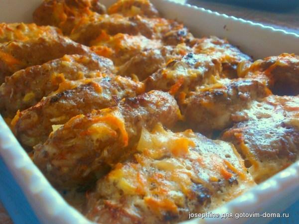 ленивые голубцы в сметанном соусе в духовке рецепт с фото пошагово
