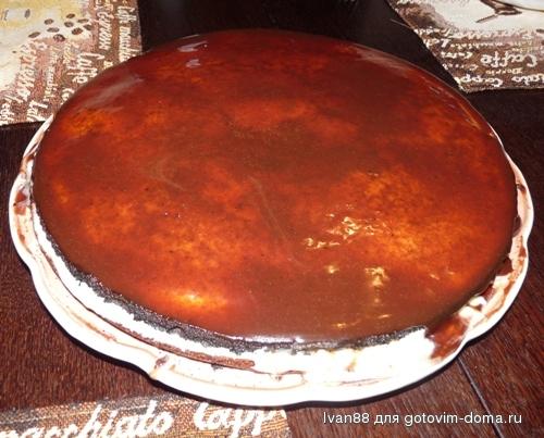 Торт сгущенка • торты