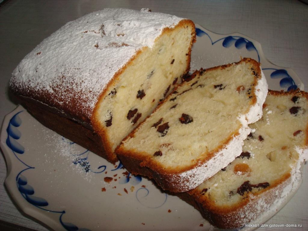 Идеальный кекс с изюмом: рецепт по госту или домашняя выпечка.