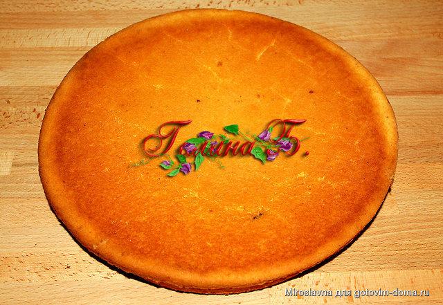Фруктовый рай • бисквитные торты