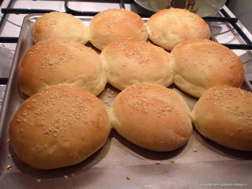 булочки для гамбургеров рецепт с фото пошагово самый вожделенный