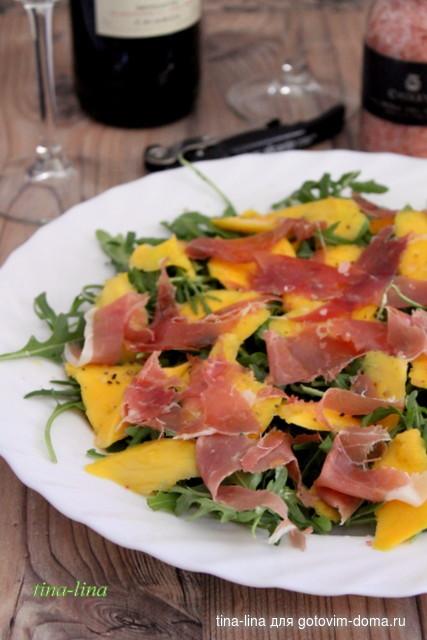 Смотреть Салат с оливковым маслом рецепт с фото видео