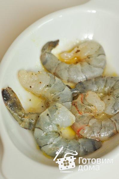 "Салат ""Цезарь"" с креветками фото к рецепту 1"