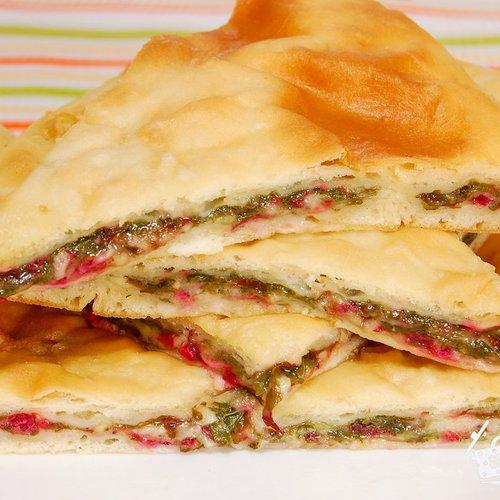 осетинские пироги с свекольной ботвой рецепт