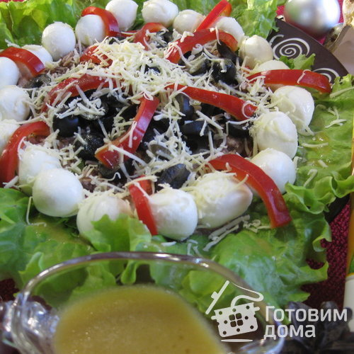 Готовим дома салаты с пошаговым фото