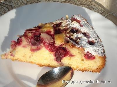 Рецепт венский пирог с вишней