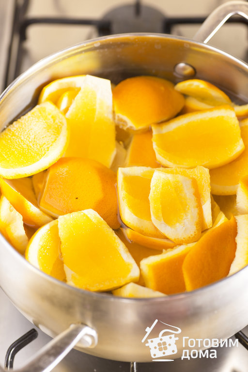 Цукаты из апельсиновых корок - пошаговый рецепт с фото на Готовим дома