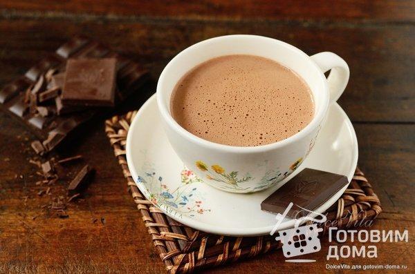 Xocoatl - Горячий шоколад индейцев майя фото к рецепту 5