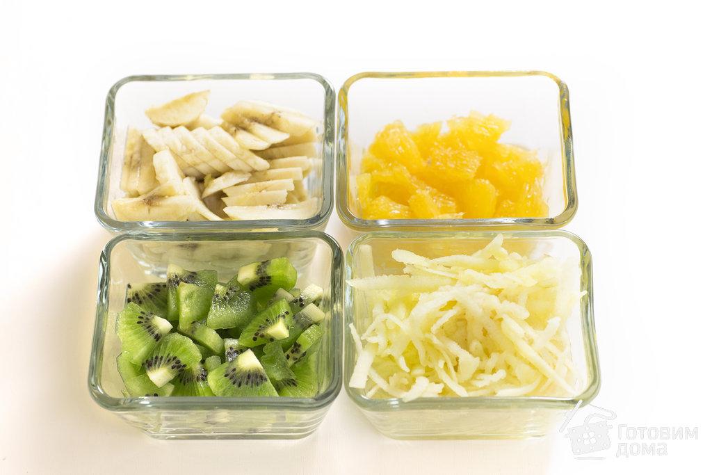 """Фруктовый салат """"Доброе утро"""" - пошаговый рецепт с фото на Готовим дома"""