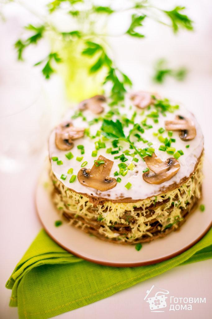 Печеночный салат новые фото