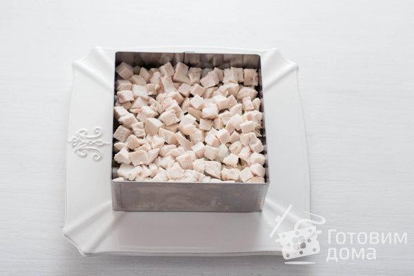 Оливье с курицей фото к рецепту 5