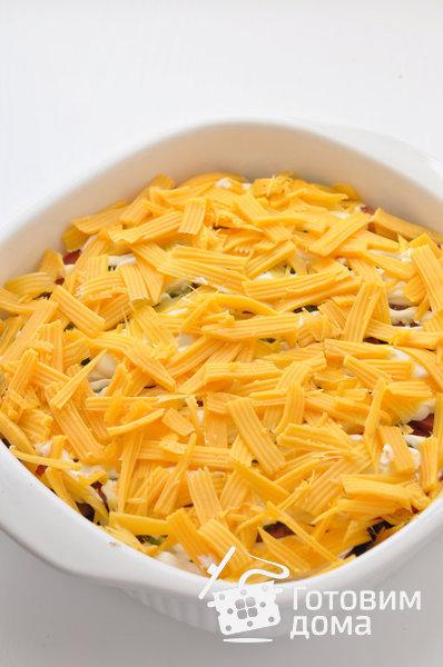 рецепт отбивной из курицы с помидорами и сыром