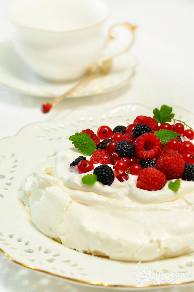 очень простой рецепт павлова десерт