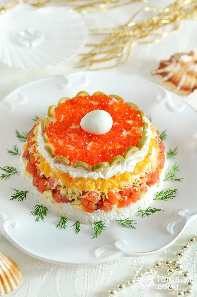 салат шапка мономаха пошаговый рецепт скрипкина