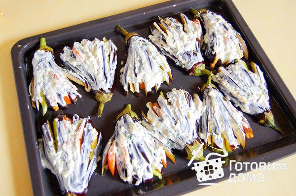 рецепт баклажанов в духовке жар птица