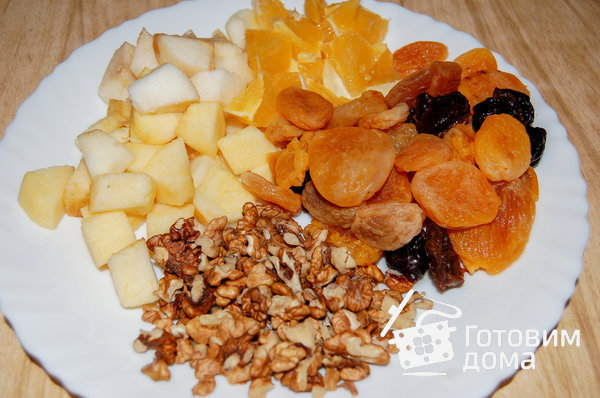 Утка (гусь) с яблоками фото к рецепту 1