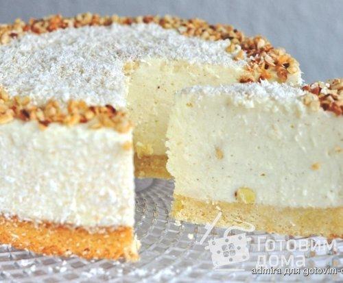 торт рафаэлло рецепт фото