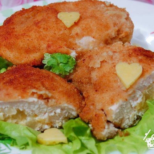 фаршированная грудка с ананасами и сыром в духовке рецепт