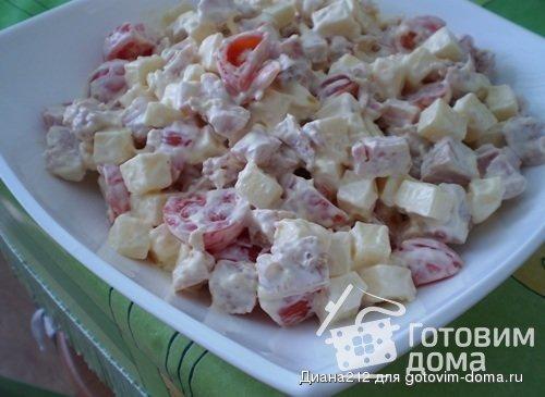 салат  аппетит рецепт