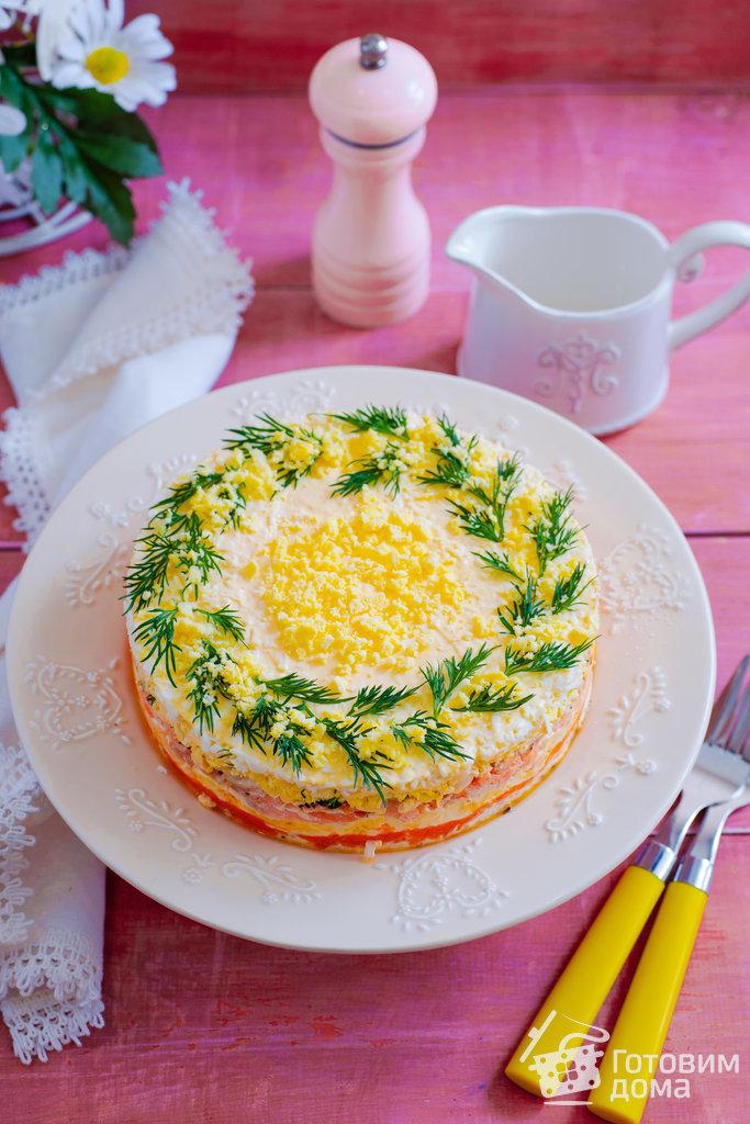 салат рецепты мимоза
