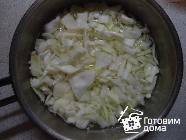 Постное тесто на капусте фото к рецепту 1