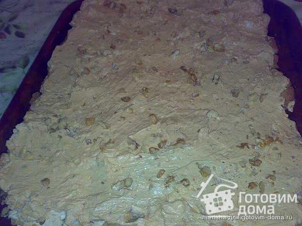"""Торт """"Воздушный сникерс"""" фото к рецепту 5"""