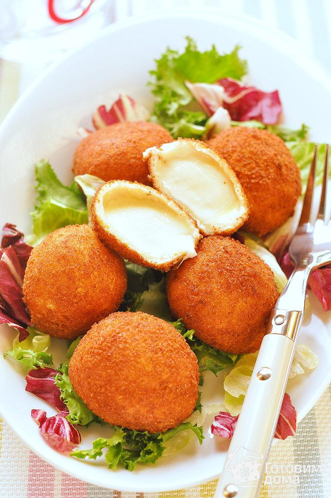Рецепты с сыром моцарелла в шариках