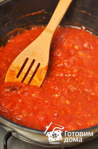 Паста с тунцом и помидорами фото к рецепту 3