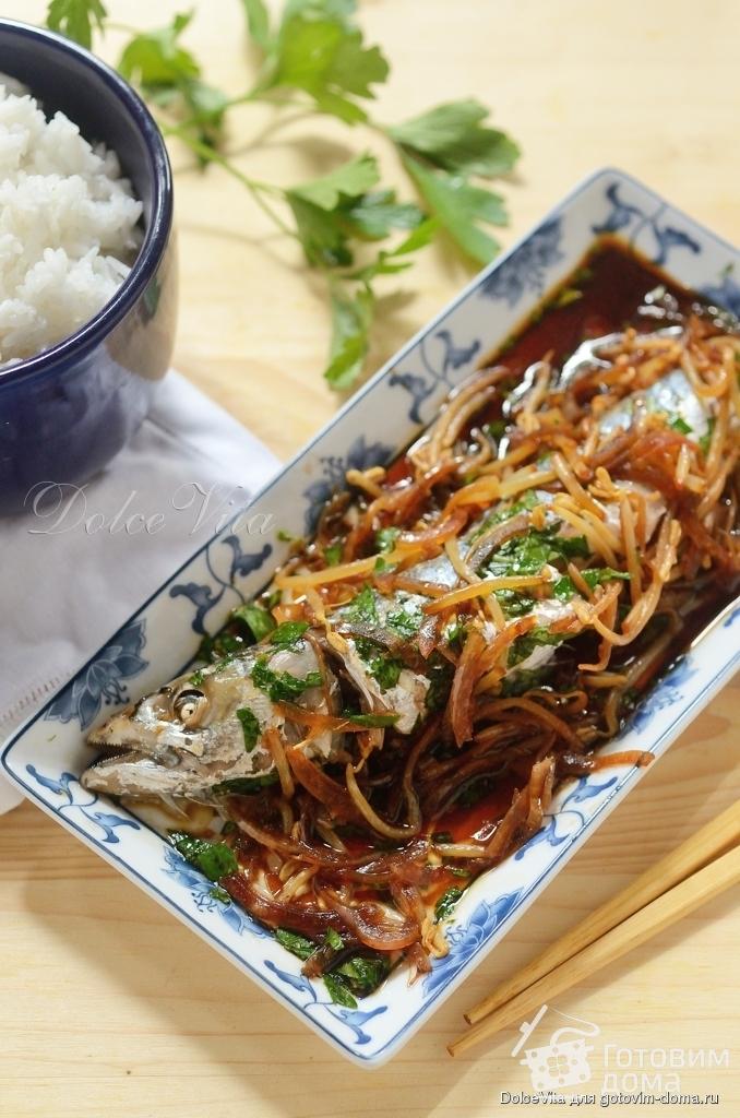 имбирь рецепты с рыбой в пароварке