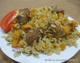 Плов рисовый по-домашнему 4