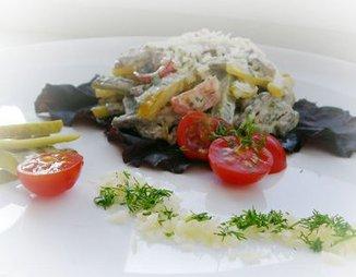 Гамбургский салат