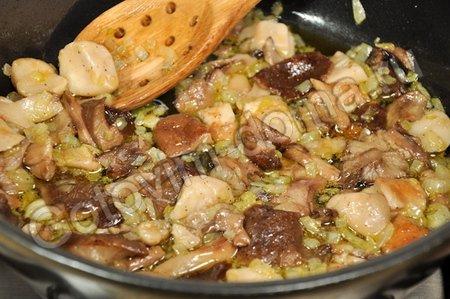 Грибной суп с перловой крупой фото к рецепту 2