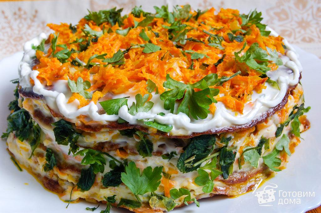 Печеночный салат картинки