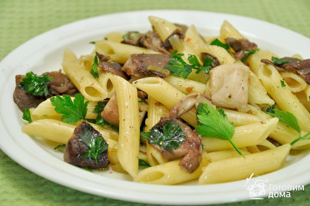 Вешенки рецепты приготовления с макаронами
