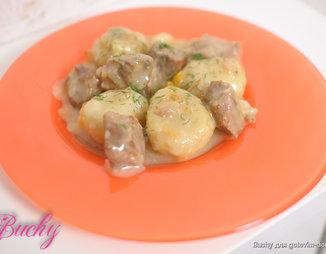 мясо по-гречески рецепт свинина