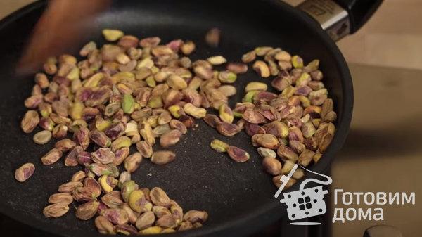 Нуга с орехами (восточные сладости) фото к рецепту 1