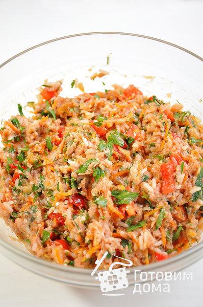 Перец, фаршированный мясной начинкой фото к рецепту 4
