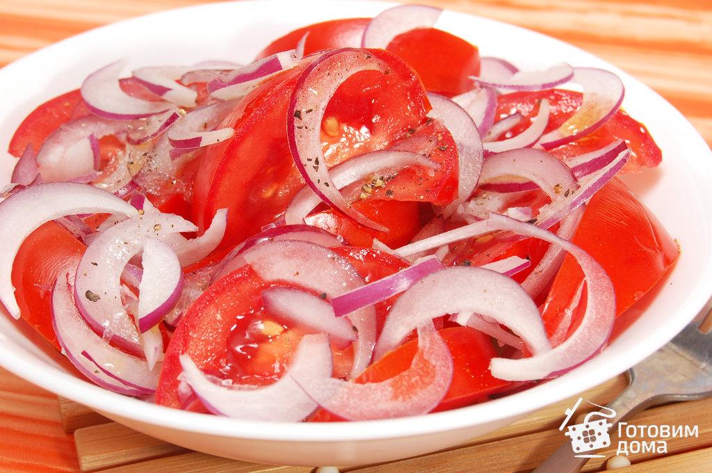 салат с помидорами яйцами рецепт с фото