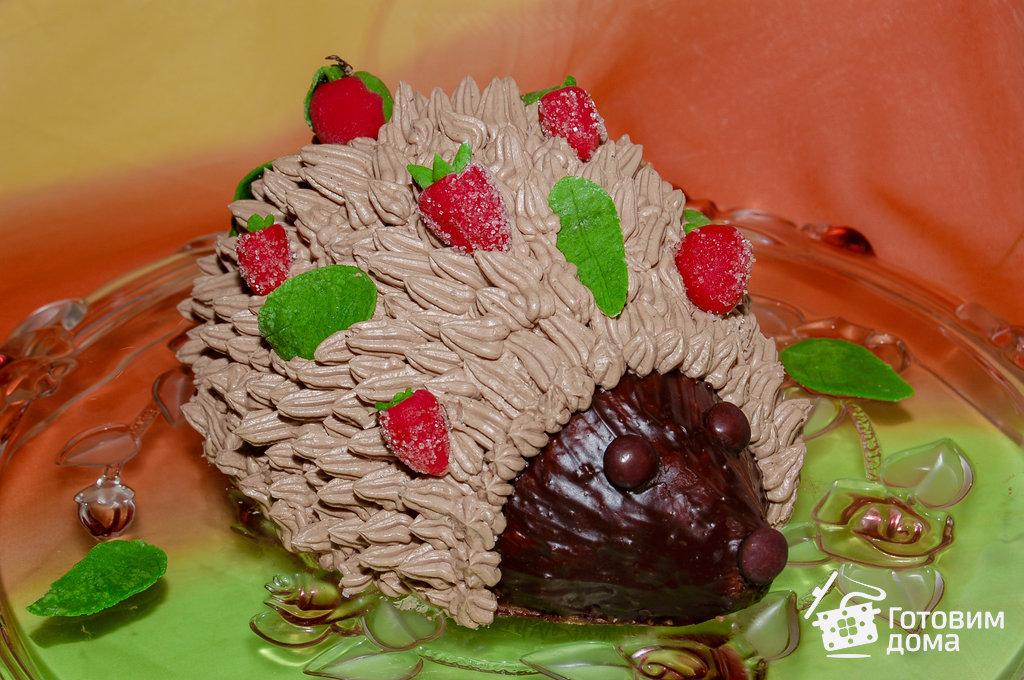 Как сделать торт ёжик 90